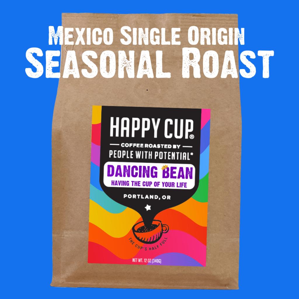 Seasonal Dancing Bean from Happy Cup
