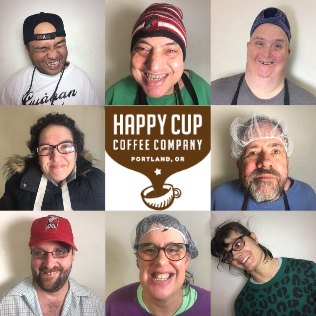 happy cup coffee cover image
