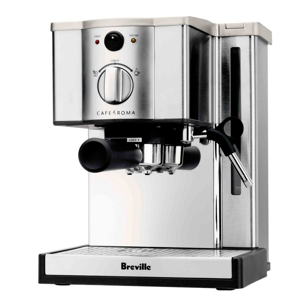 Breville - Cafe Roma Stainless Espresso Maker