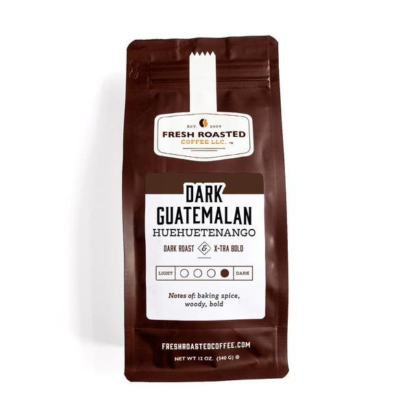 Fresh Roasted - Dark Guatemalan Coffee Huehuetenango