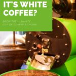 white coffee image