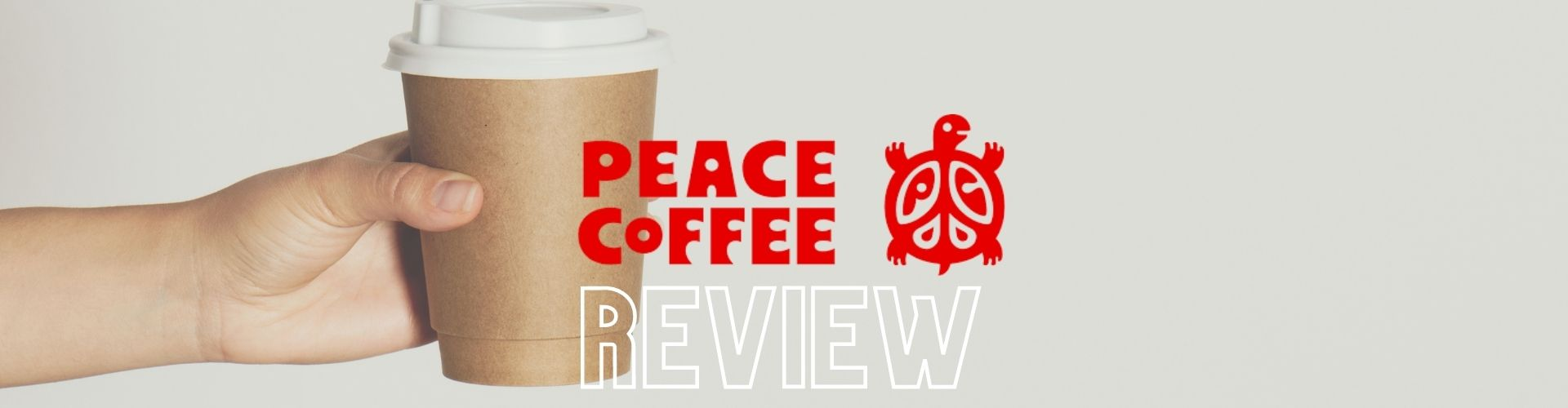 peace coffee banner image