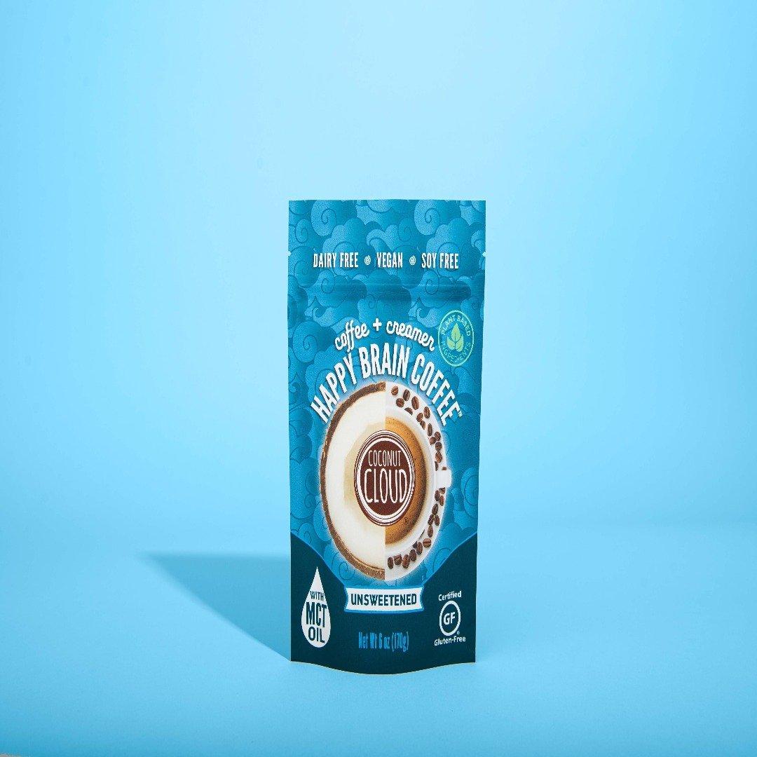 Coconut Cloud - Happy Brain Coffee, Unsweetened