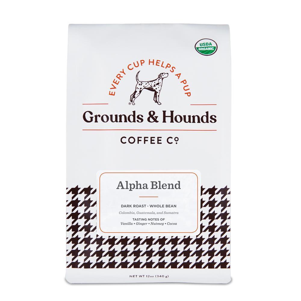 Grounds and Hounds Alpha Blend™ Dark Roast