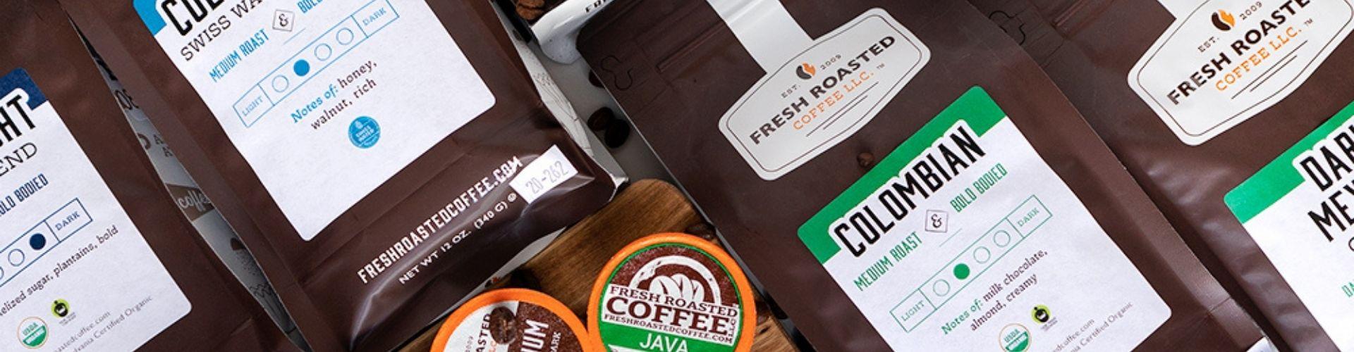 fresh roasted coffee header